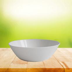Biodora Teller weiß - Biokunststoff, ohne Weichmacher, spülmaschinengeeignet