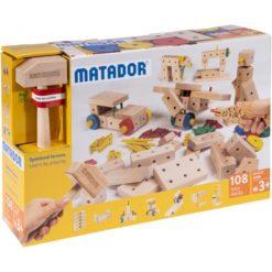 Nachhaltiges Holzspielzeug aus Österreich - Matador Maker 108