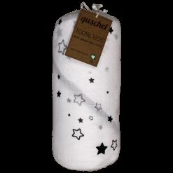 quschel Bio Kapuzenhandtuch Milchstraße Sterne