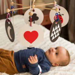 HANNIline Kontrastkarten ab Geburt - Babys Sinne fördern