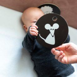 HANNIline Kontrastkarten ab 3. Monat - Babys Sinne fördern