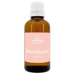 Hochwertiges Bäuchleinöl, Anti-Kolik - zur Bauchmassage bei Koliken und Bauchschmerzen