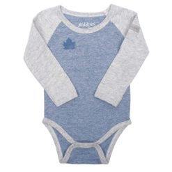 Babybody_langarm_denim blue - Juddlies
