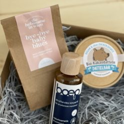 Hello Mommy - Box - Geschenk für frischgebackene Mütter, nach der Geburt, Karenz - Baby Blues