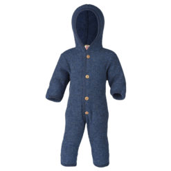 Schurwolle Fleece Overall mit Holzknöpfen - Bio & Made in Germany, ENGEL Natur