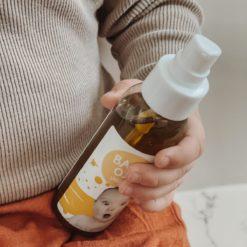 Truly Great Bio Baby Öl Pumpspender 100ml nachhaltig, Mikroplastikfrei, vegan