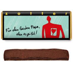 Für den besten Papa, den es gibt - Zotter Schokolade handgeschöpft