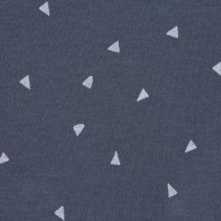 LÄSSIG Beanie Triangel blauDetails