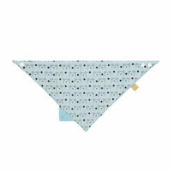 LÄSSIG Dreieckstuch Teether blau
