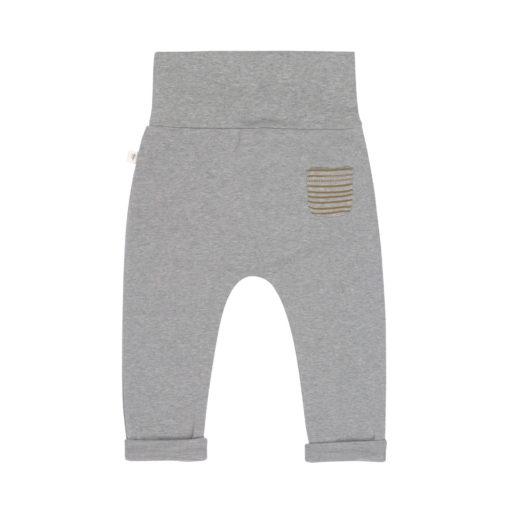 LÄSSIG Hose grey melange_hinten