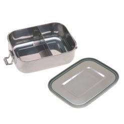 LÄSSIG Lunchbox Edelstahl