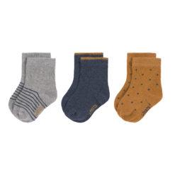 LÄSSIG Socken 3er Pack_blau