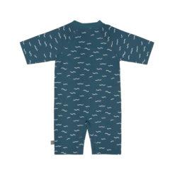 LÄSSIG Swim suit blau_hinten