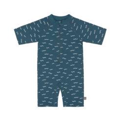 LÄSSIG Swim suit blau_vorne