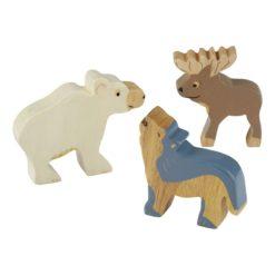 HEVEA Holztiere Arktis