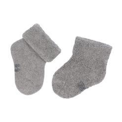 LÄSSIG New Born Socks grey