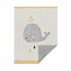 LÄSSIG Strickdecke Wal