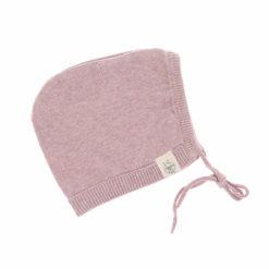 Knitted Cap Babymütze light pink
