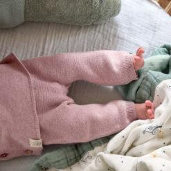 LÄSSIG Strickhose Knitted Pants light pink