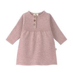 LÄSSIG Knitted Dress Strickkleid rosa