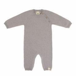 LÄSSIG Knitted Overall Strickoverall grey