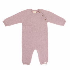 LÄSSIG Knitted Overall Strickoverall light pink