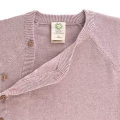 LÄSSIG knitted kimono light pink