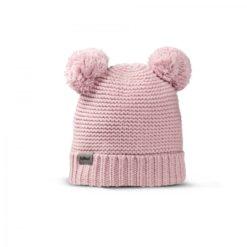Fellhof Babymütze Niki aus Merinowolle rosa